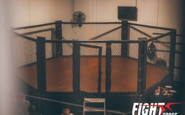 Cage used at Fightcross MMA Albion